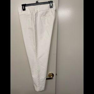 Ann Taylor Loft cropped pants Julie style size 12